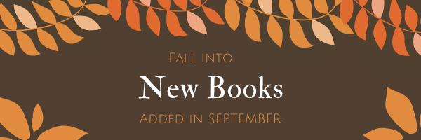 New Books Added in September