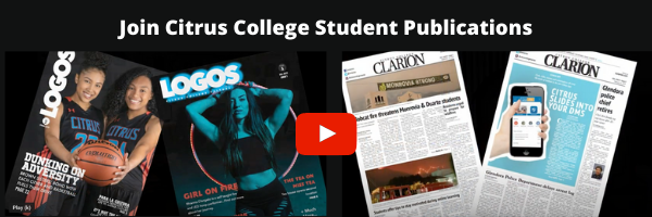 Join Student Publications - Citrus College Clarion and Logos Magazine