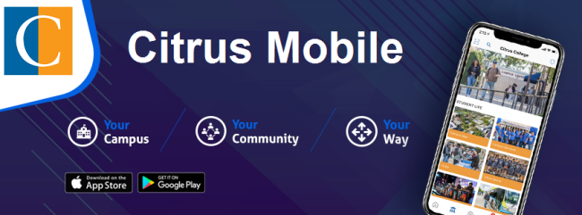 Citrus College Mobile App