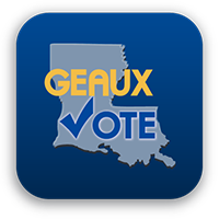 Image result for Louisiana Vote Logo