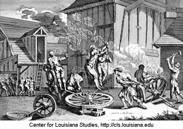 18th Century French Blacksmith