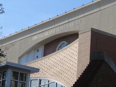 Edith Garland Dupré Library Facade