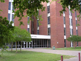 UL Lafayette Griffin Hall Entrance