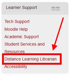 Learner Support Block in Moodle 2.7 Screenshot