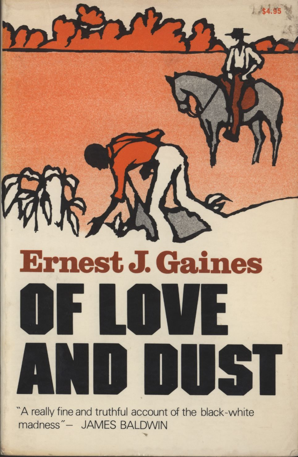 American cover of Of Love and Dust