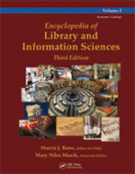 Encyclopedia of Library and Information Sciences, Third Edition
