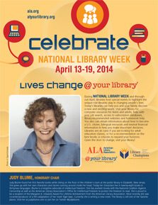 Public Service Announcement: Celebrate National Library Week, April 14-20, 2014