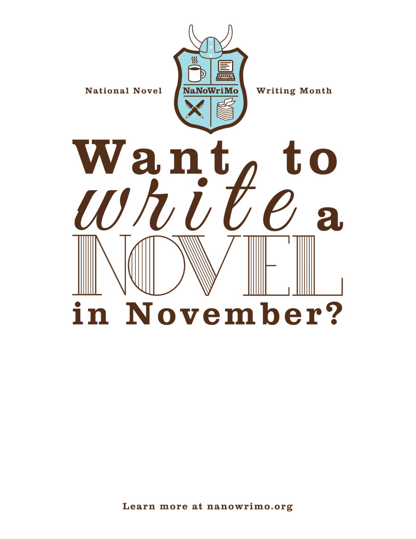 NaNoWriMo General Flyer