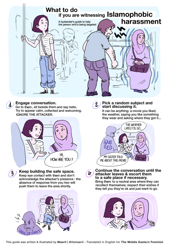 What to do when you witness Islamophobia