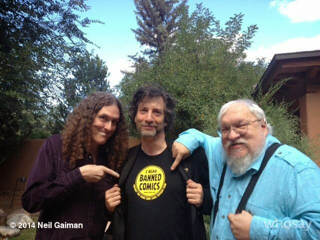 Gaiman, Martin, and Yankovic