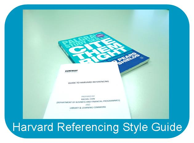 Harvard Referencing Style Guide