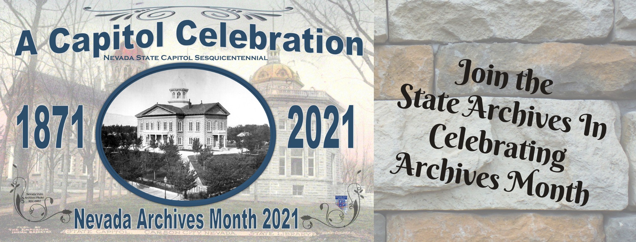 Join the State Archives in Celebrating Archives Month