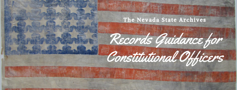 Image link to Archives Records Guidance for Constitutional Officers