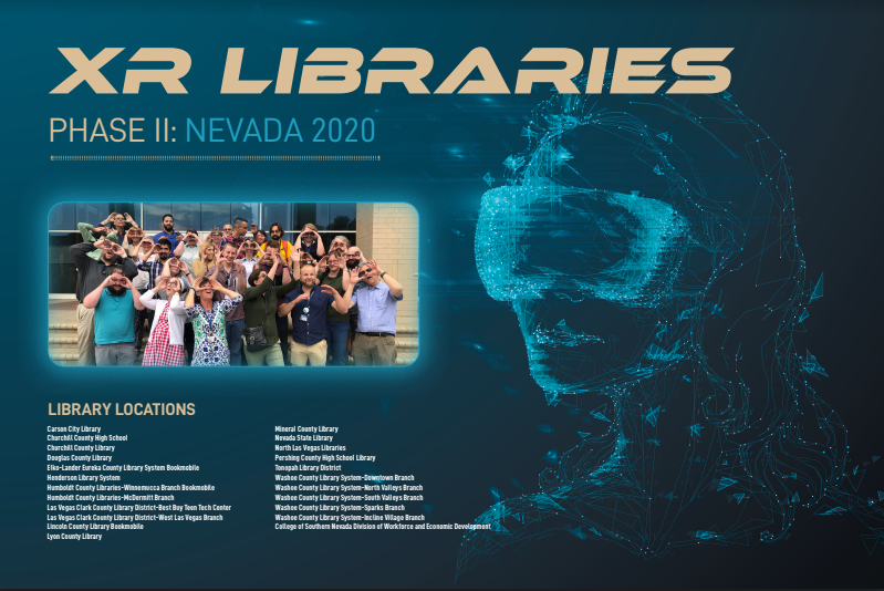 XR Libraries Phase II graphic