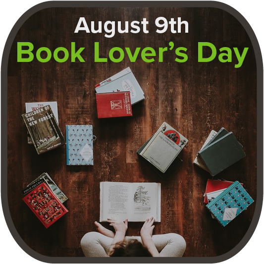 August 9th - Book Lover's Day