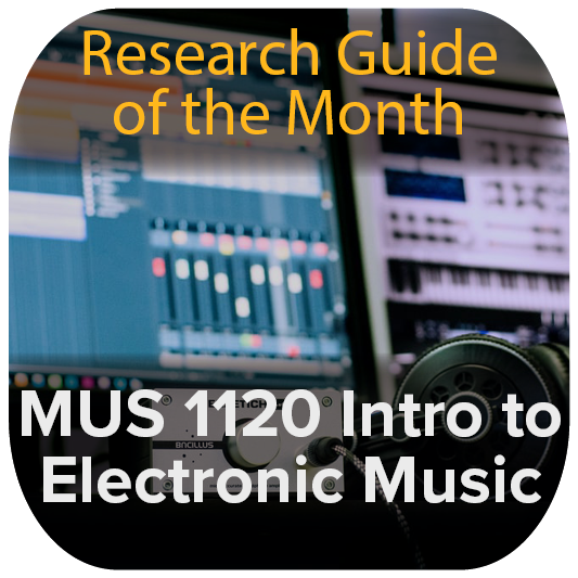 Guide of the Month: Intro to Electronic Music