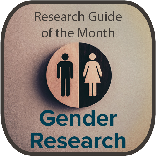 Research Guide of the Month: Gender Research