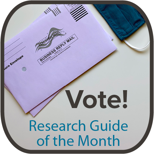 Vote! Research Guide of the Month