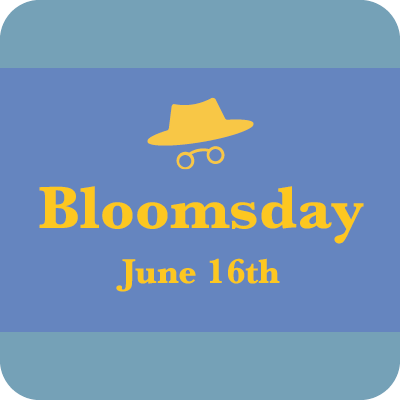 Bloomsday June 16th