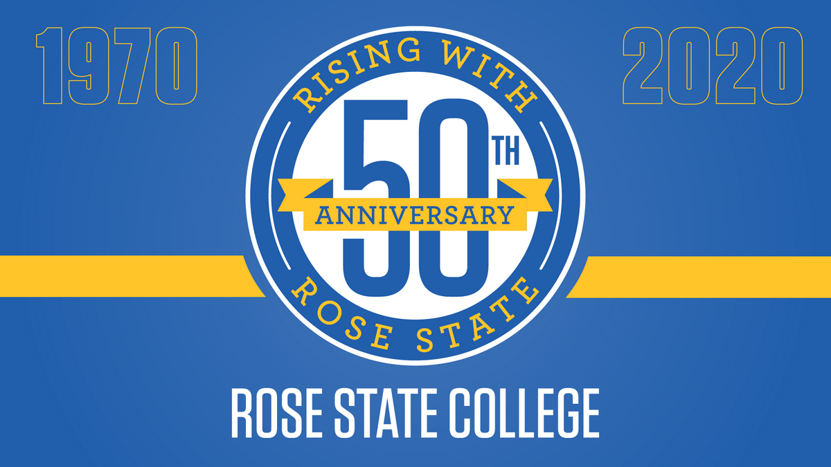 Rose State College 50th Anniversary