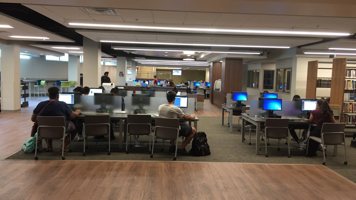 Open Computer Lab in the Library