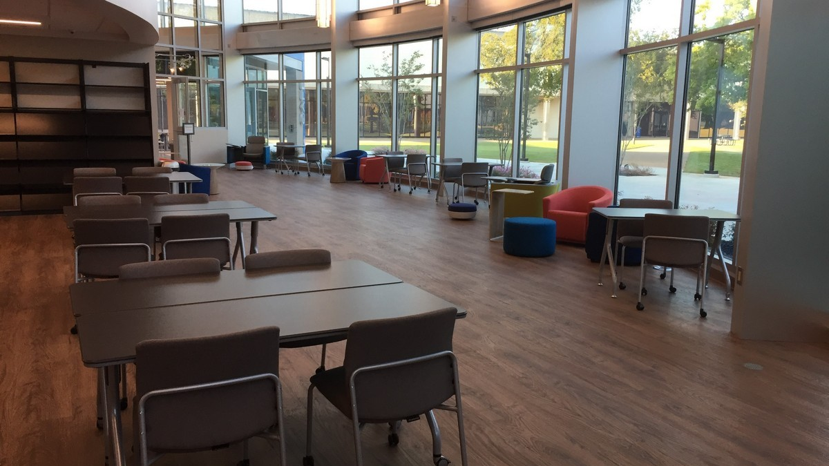Beautiful, Open Study Spaces