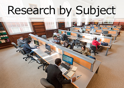 Visit the Research by Subject page