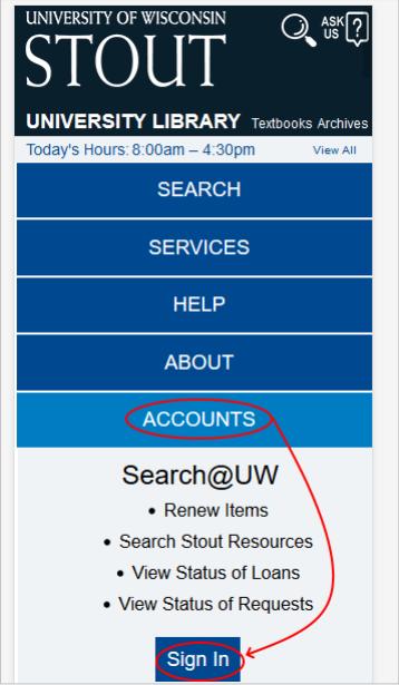 Image of homepage