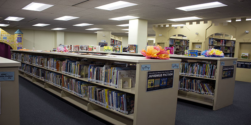 We have a large selection within our Educational Materials Center collection