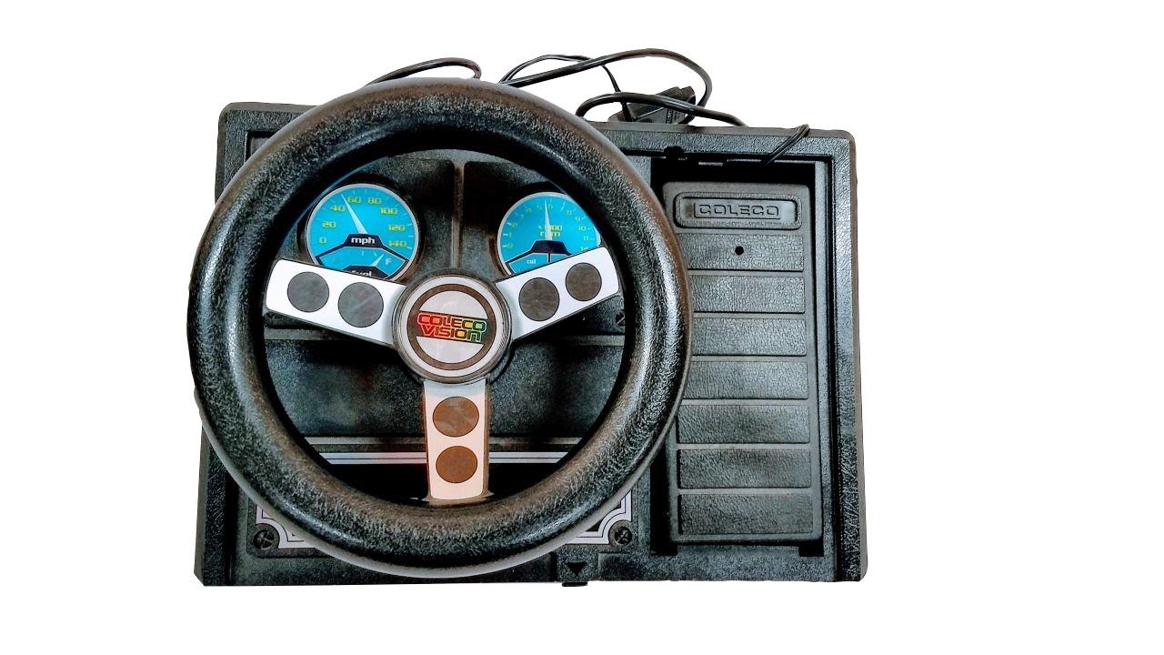 image of gaming steering wheel