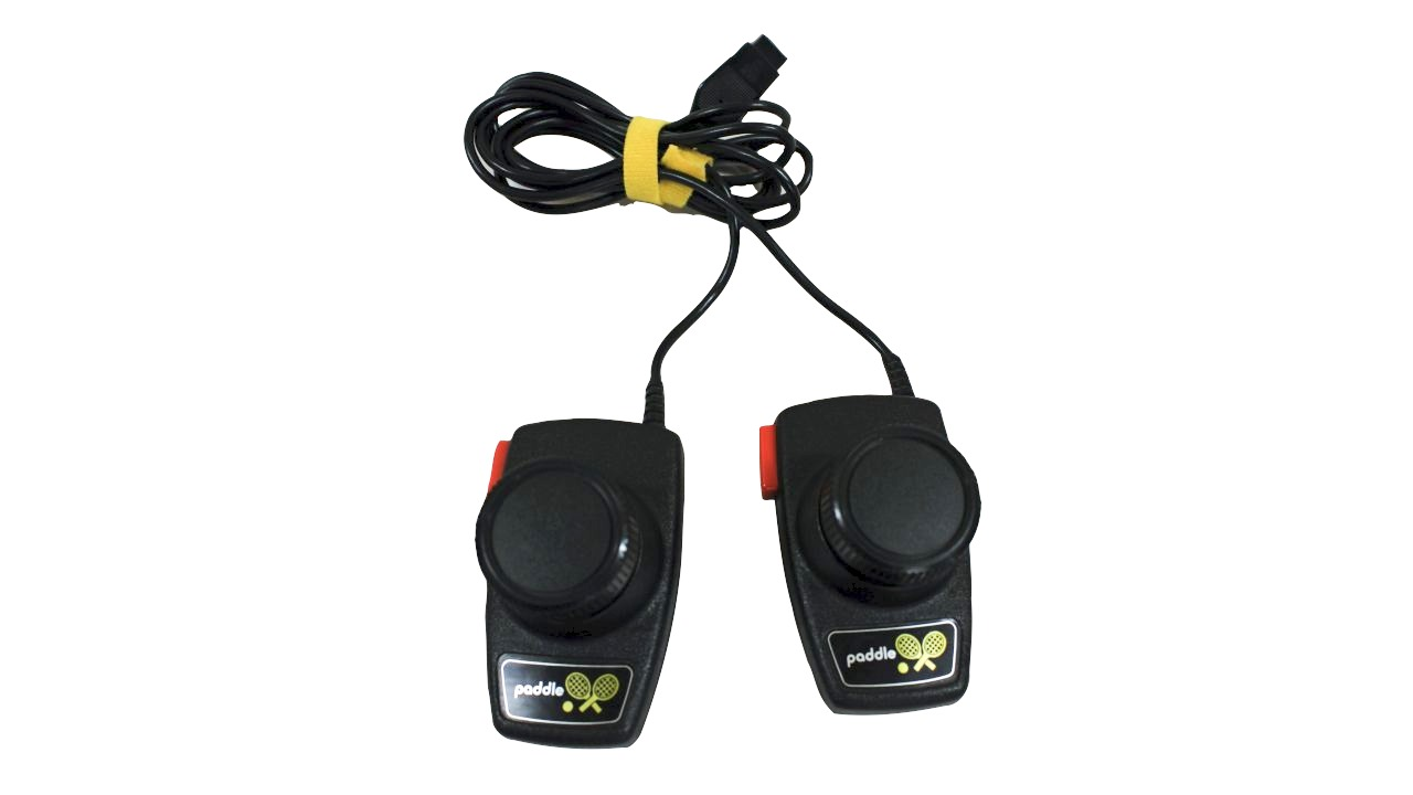 image of paddle controls for gaming