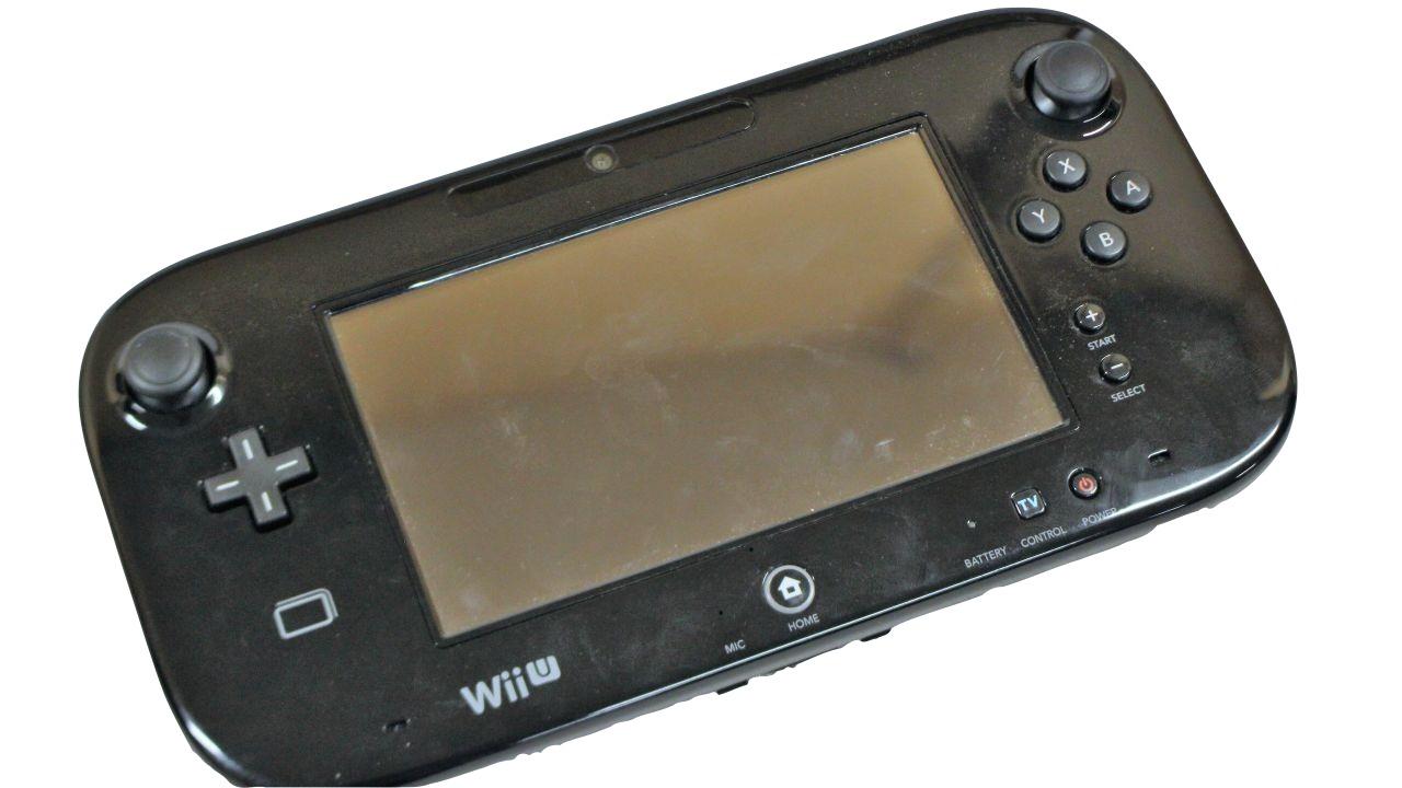 image of Wii U handheld gaming device
