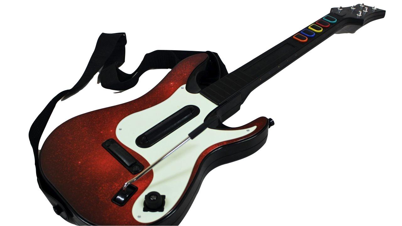 image of gaming guitar controller