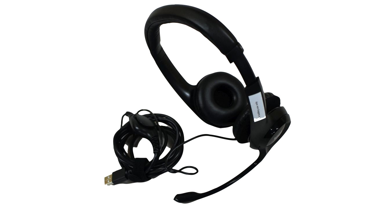 image of headset with microphone