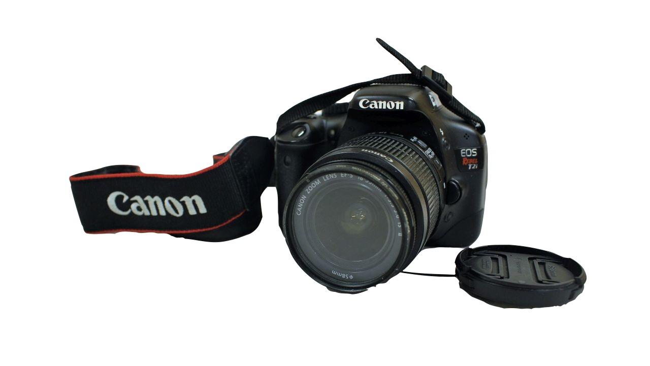 image of Canon T2i camera