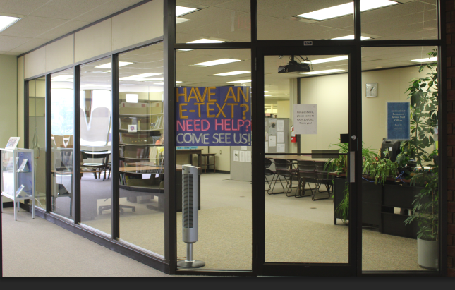 The textbooks office and book pick-up and return are located on the 3rd Floor.