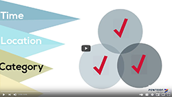 Narrow Your Topic Video Icon