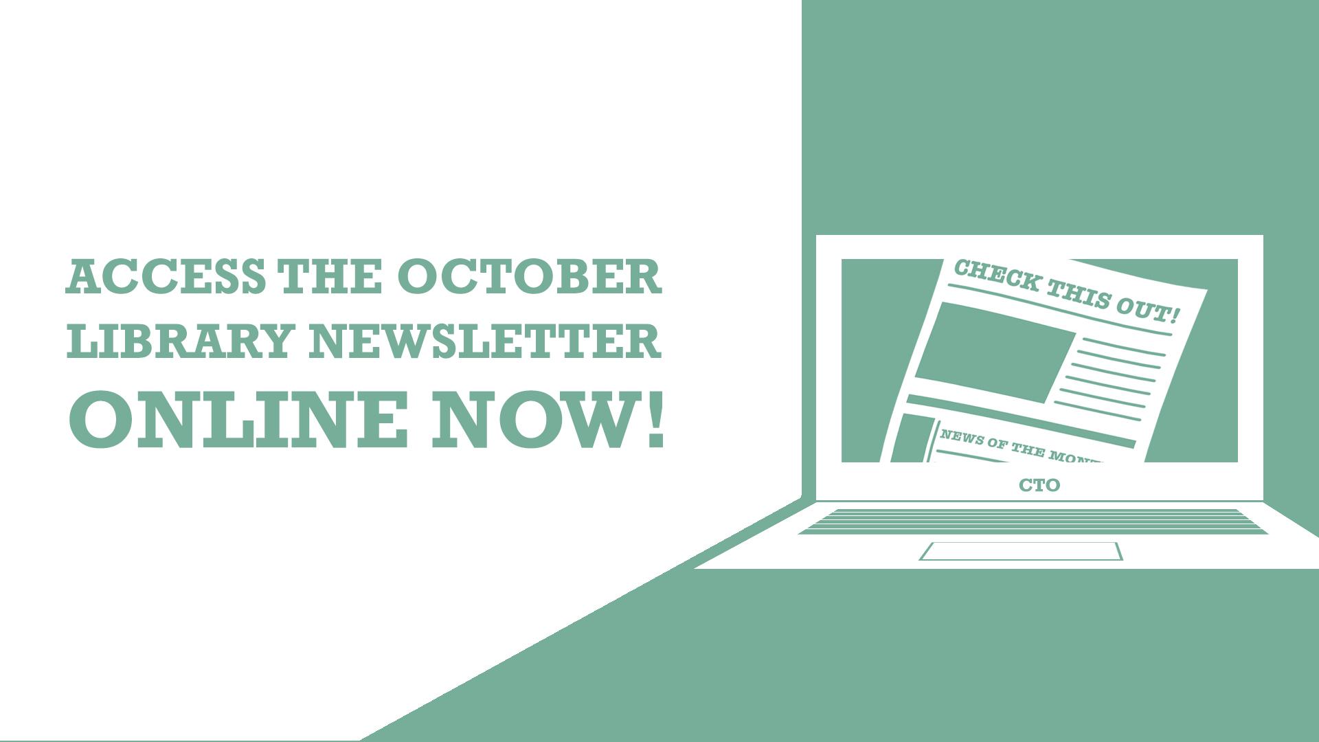Slide for the October Library Newsletter