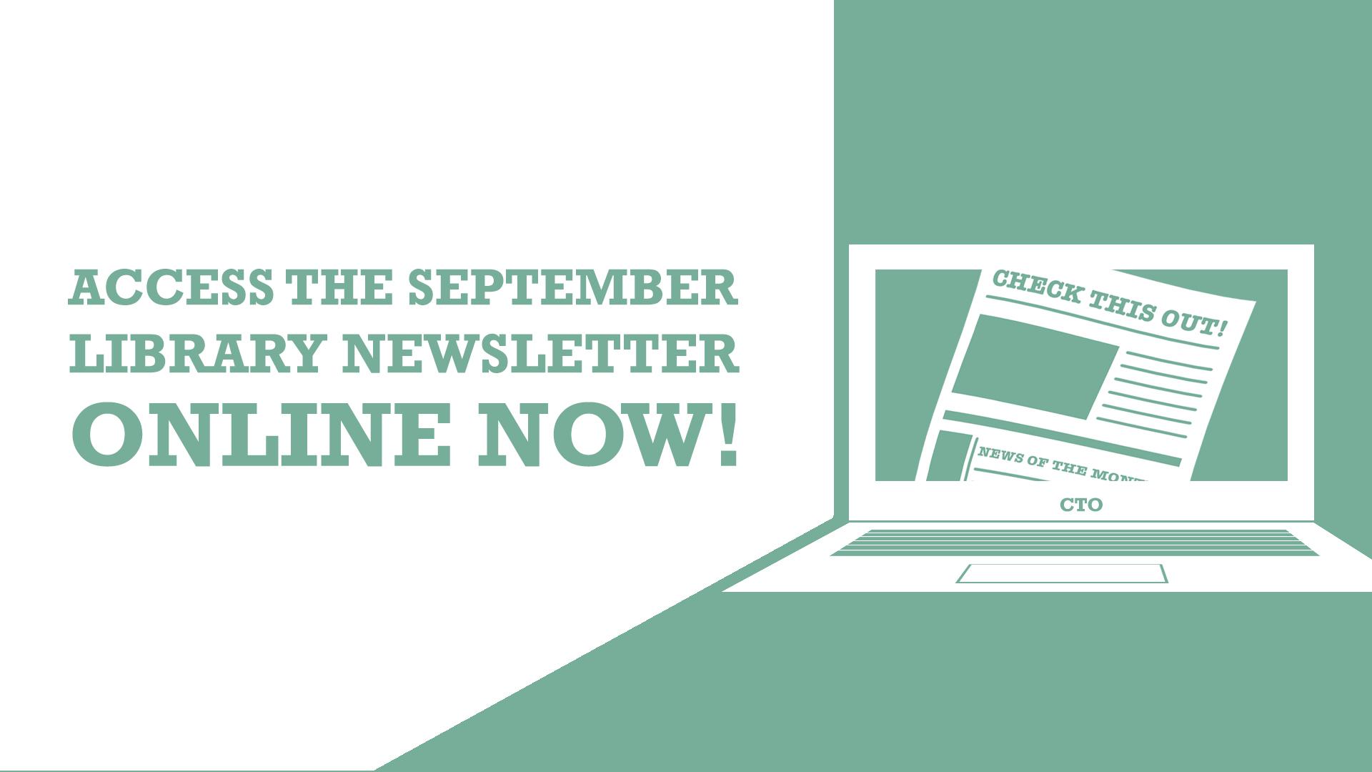Slide for the September Library Newsletter