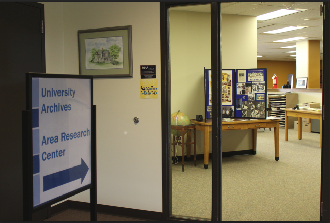 Arhives is located on the Fifth Floor of the Library