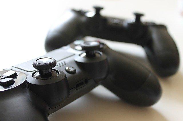 Image of joysticks for gaming