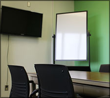 The Fifth Floor offers two group study rooms