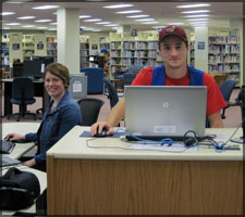 The Access to Learning Desk has someone at the desk during the Library's open hours