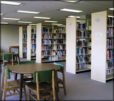 The main stacks for the library are located on 3rd Floor, 4th Floor and 5th Floor