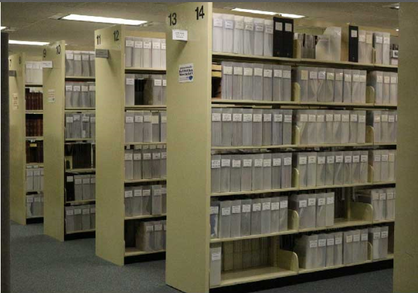 The Periodical collection is located on the Second Floor