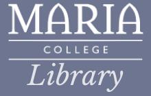 Maria College Library Logo