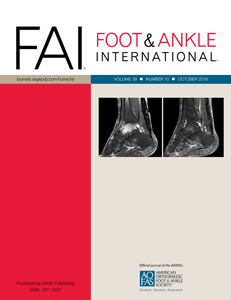 Foot & Ankle International cover