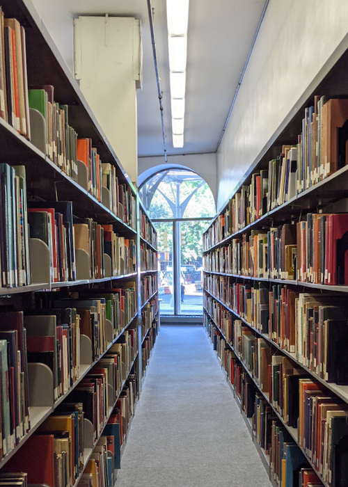 The Cooper Union Library Stacks