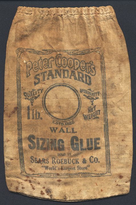 Peter Cooper's standard wall sizing glue