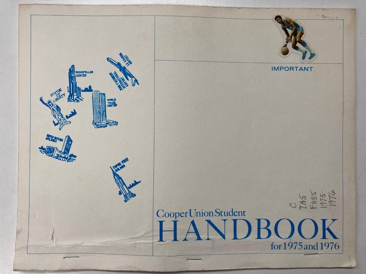 student handbook 1976
